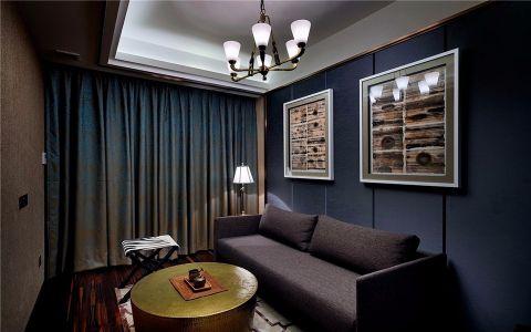 海德卫城新古典风格150平三室两厅两卫装修效果图