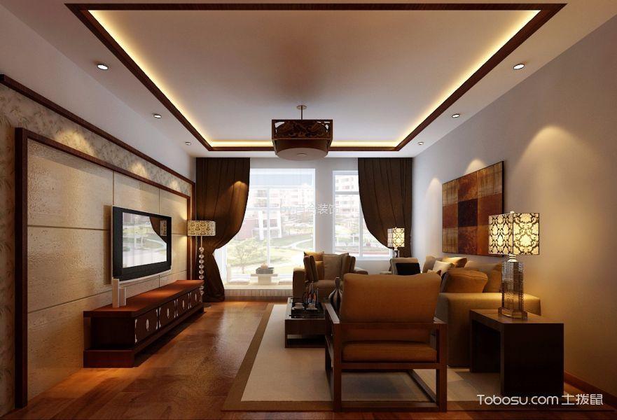 中式风格180平米4房2厅房子装饰效果图