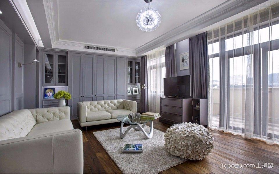 银河湾第一城148平混搭风格三居室装修效果图