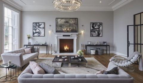 客厅现代风格效果图大全2017图片_土拨鼠时尚创意客厅现代风格装修设计效果图欣赏