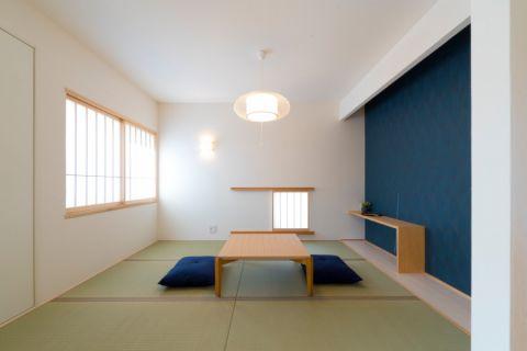 客厅日式风格效果图大全2017图片_土拨鼠个性富丽客厅日式风格装修设计效果图欣赏