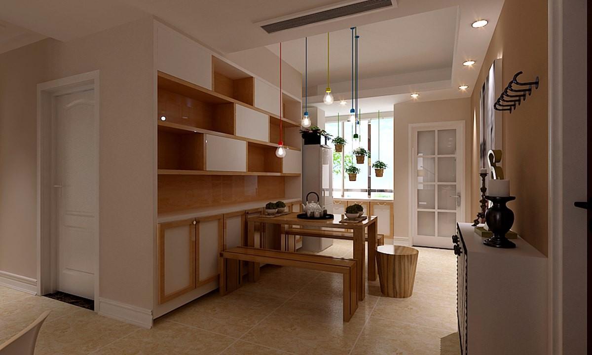 2室1卫2厅90平米现代风格