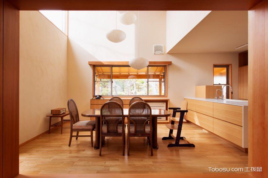 餐厅日式风格效果图大全2017图片_土拨鼠奢华迷人餐厅日式风格装修设计效果图欣赏
