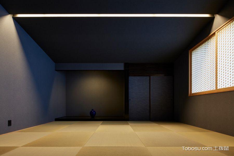 卧室原木色地砖现代风格装修效果图