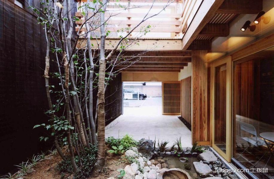 2019日式花园设计图片 2019日式走廊效果图