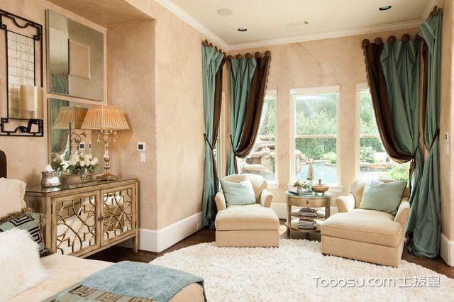 2020地中海卧室装修设计图片 2020地中海落地窗效果图