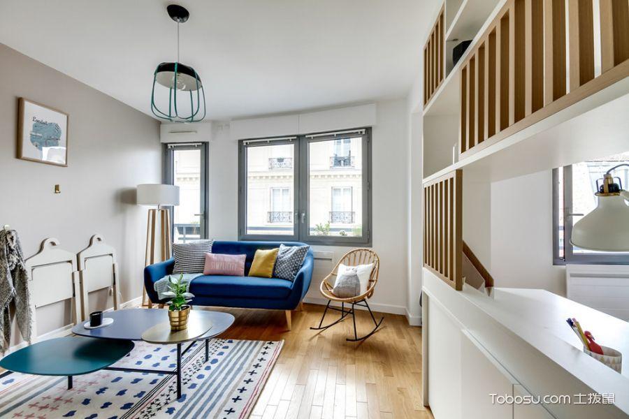90㎡/北欧/一居室装修设计