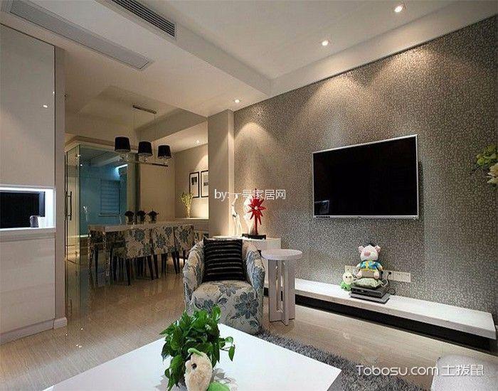 现代风格100平米套房装修效果图