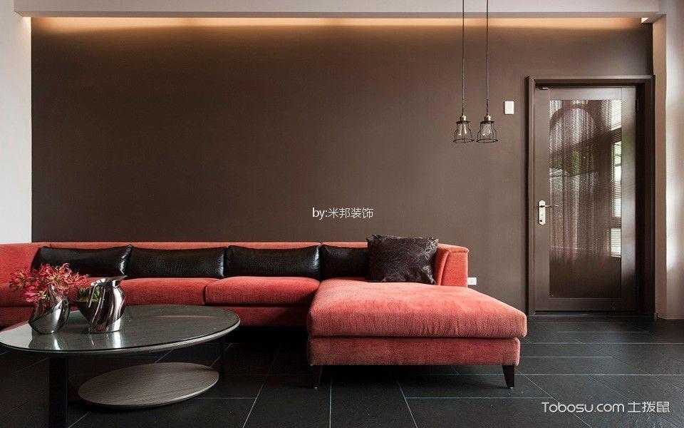星河国际130平现代简约风格三居室装修效果图