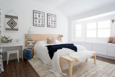 卧室混搭风格效果图大全2017图片_土拨鼠时尚优雅卧室混搭风格装修设计效果图欣赏