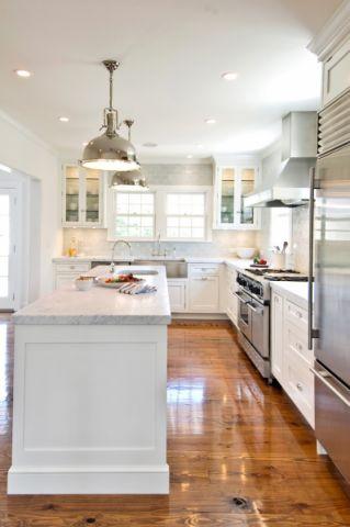 2019美式厨房装修图 2019美式地板装修效果图大全