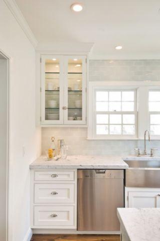 2019美式厨房装修图 2019美式窗台图片