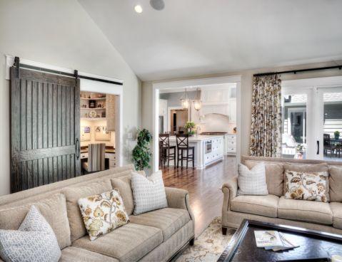 2021美式240平米装修图片 2021美式楼房图片