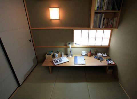 2019日式书房装修设计 2019日式书桌图片
