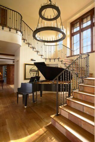 2019简欧客厅装修设计 2019简欧楼梯装修设计