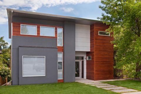 外景外墙现代家装设计
