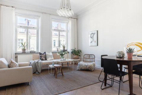 2019北欧50平米装修图片 2019北欧一居室装饰设计