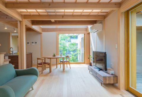 2021日式80平米设计图片 2021日式一居室装饰设计