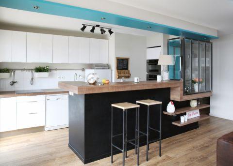 厨房北欧风格效果图大全2017图片_土拨鼠大气奢华厨房北欧风格装修设计效果图欣赏