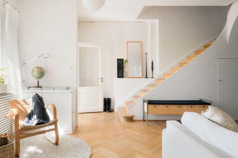走廊北欧风格效果图大全2017图片_土拨鼠极致雅致走廊北欧风格装修设计效果图欣赏