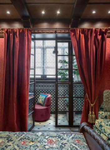 卧室简欧风格效果图大全2017图片_土拨鼠豪华创意卧室简欧风格装修设计效果图欣赏