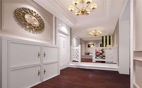 中关村120平米现代美式三居室装修效果图