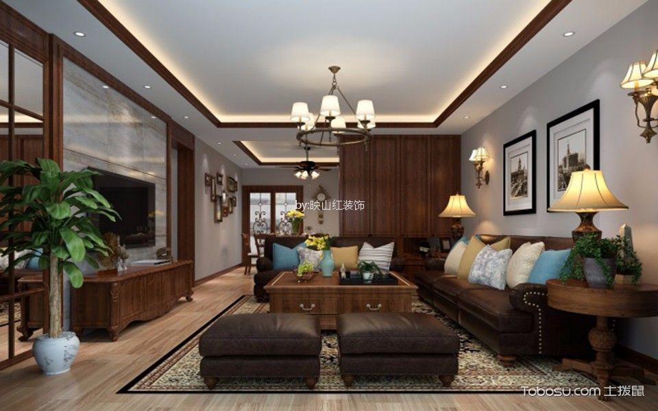新古典风格两居室120平米装修效果图
