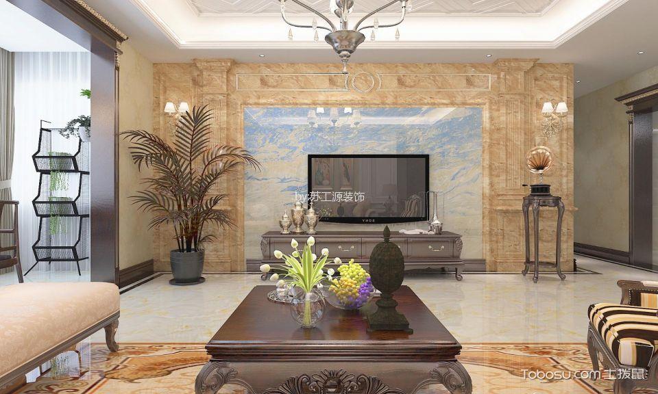 紫金风景线欧式风格180平米欧式风格四居室装修效果图
