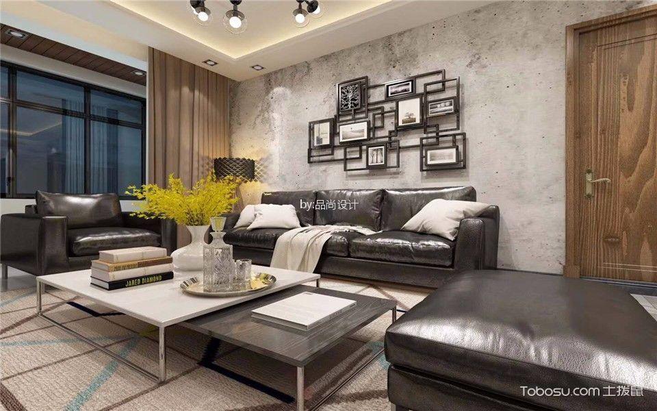 中海紫金苑200平北欧风格大户型装修效果图