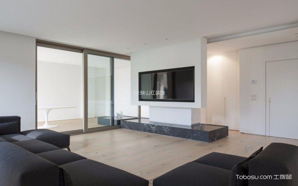 120平米北欧风格三居室装修效果图