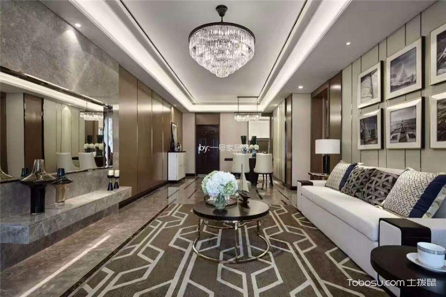郑州一号家居网新田城四室两厅现代简约装修效果图