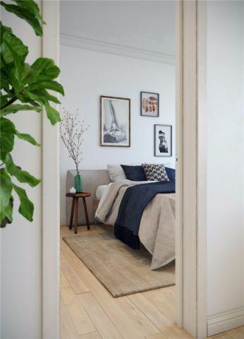 2019美式100平米图片 2019美式三居室装修设计图片