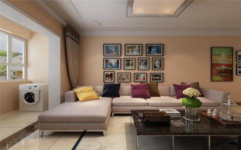 2020现代简约80平米设计图片 2020现代简约楼房图片
