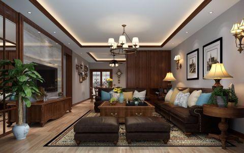 2020新古典120平米装修效果图片 2020新古典二居室装修设计