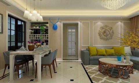 2020北欧110平米装修图片 2020北欧三居室装修设计图片