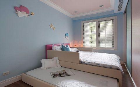 2020美式110平米装修图片 2020美式三居室装修设计图片