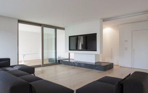 2020北欧120平米装修效果图片 2020北欧三居室装修设计图片