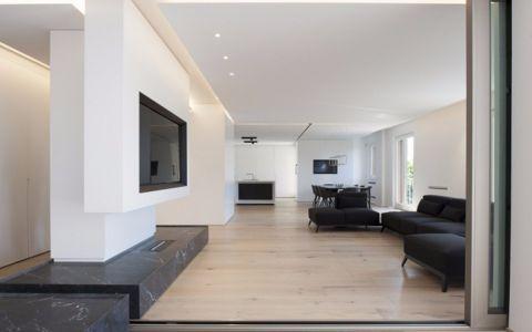 2020现代简约150平米效果图 2020现代简约二居室装修设计