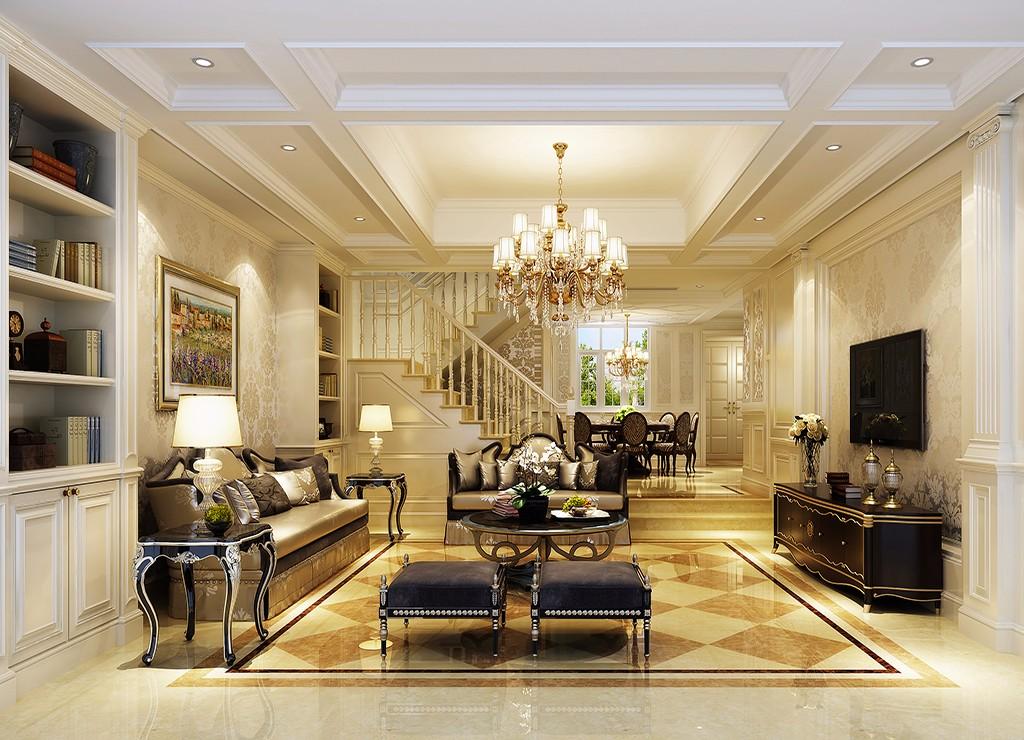 4室3卫3厅330平米欧式风格