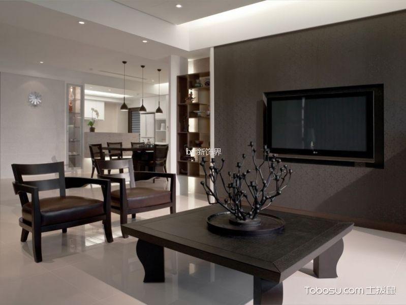 紫金官邸167平中式风格三居室装修效果图