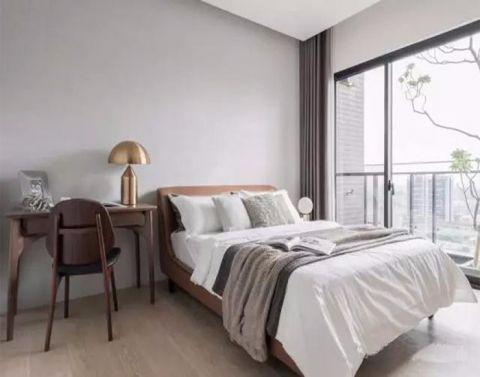 7.3万欢乐颂77平米现代风格2居室装修效果图
