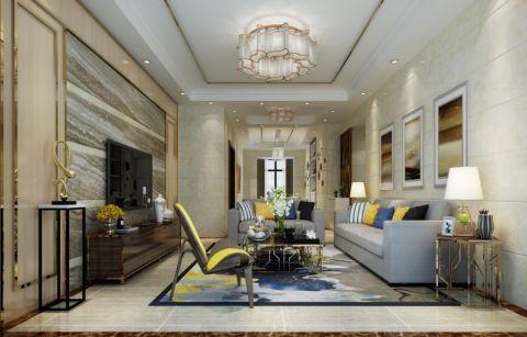 光大江与城140平米现代简约风格四房两厅装修效果图