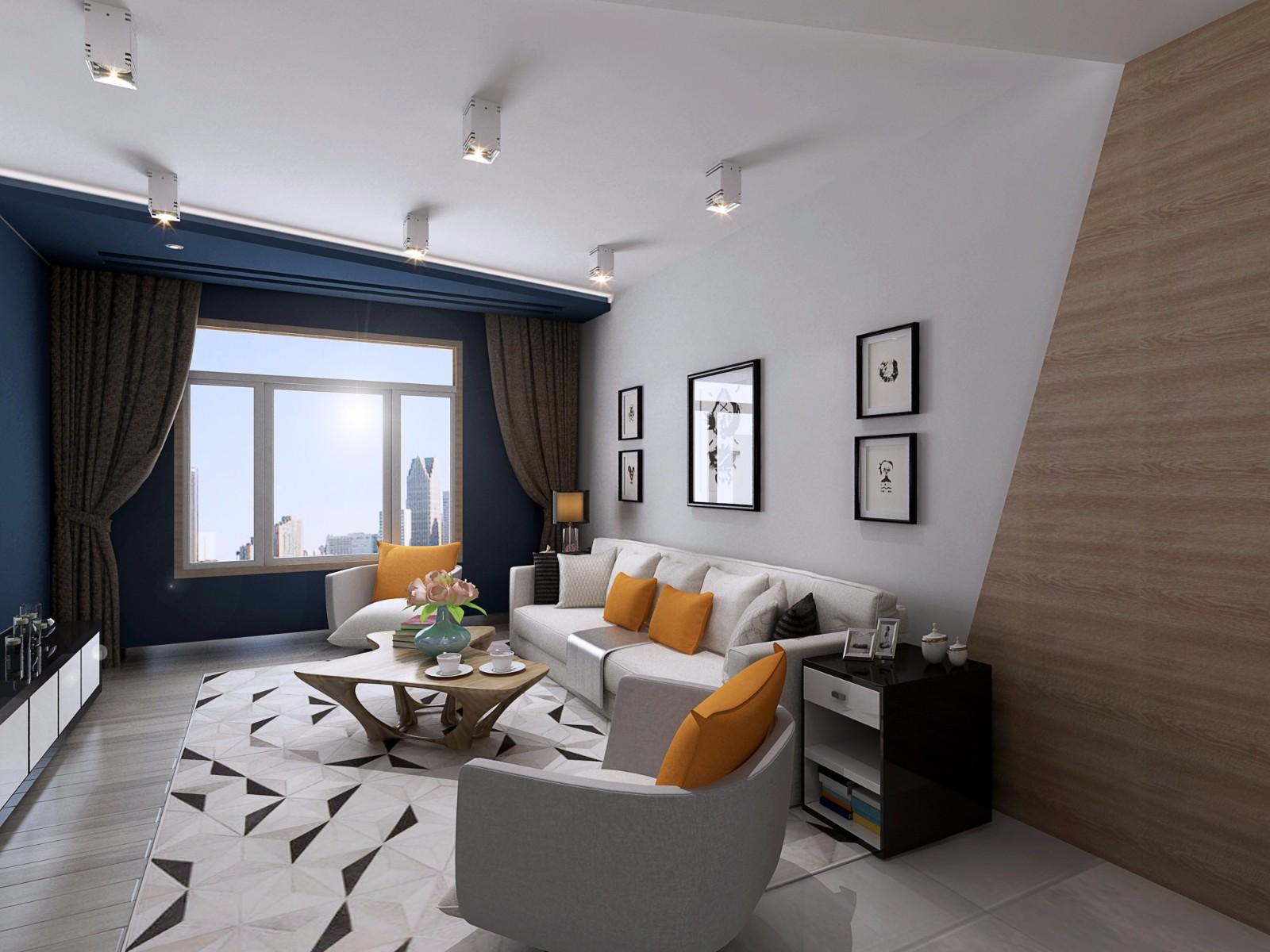 3室2卫2厅183平米现代简约风格