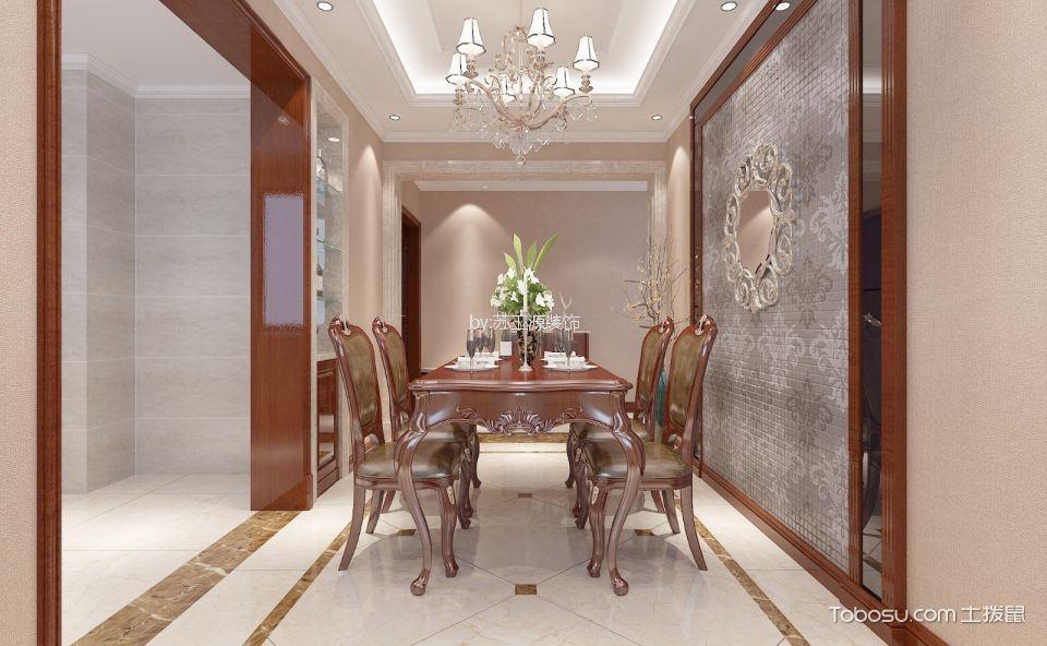 洛阳升龙广场139平米新古典风格效果图