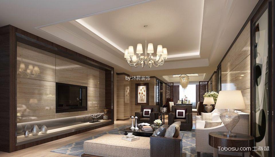 杭州东晖龙悦湾157平米现代简约风格效果图