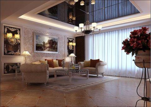 简欧风格装修在欧式风格的基础上,对欧式风格进行简化与优化,保留欧式风格的装修效果,欧式风格的装饰风格也有所保留,这是欧式风格的特点。