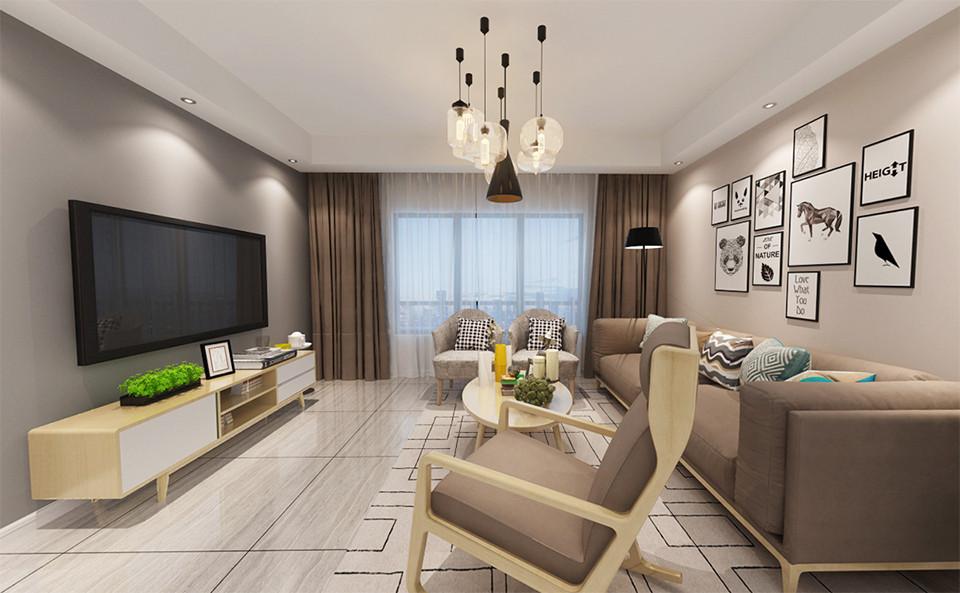 4室2卫2厅150平米现代简约风格