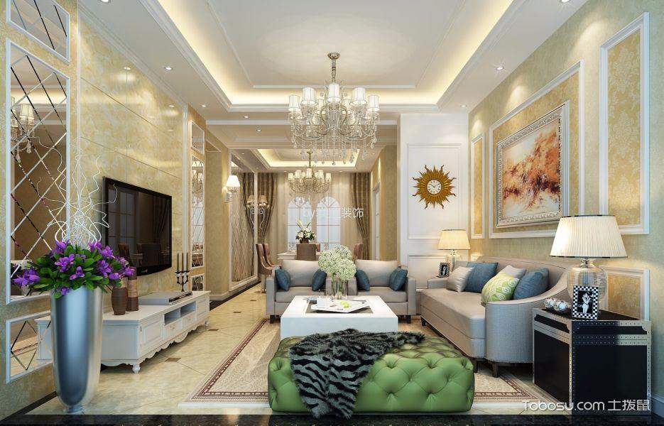 120㎡/现代/三居室装修设计
