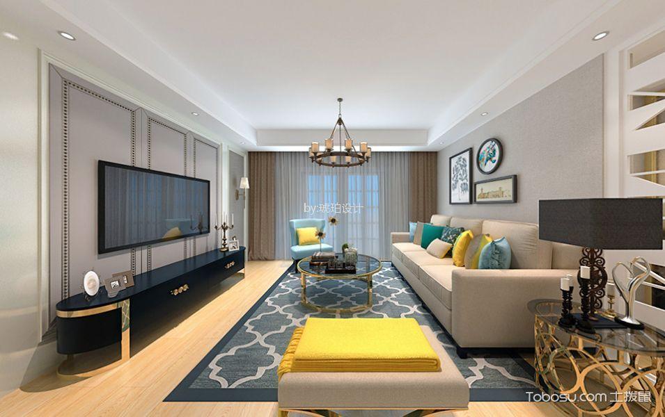 世茂香槟湖160平米现代风格四居室装修效果图