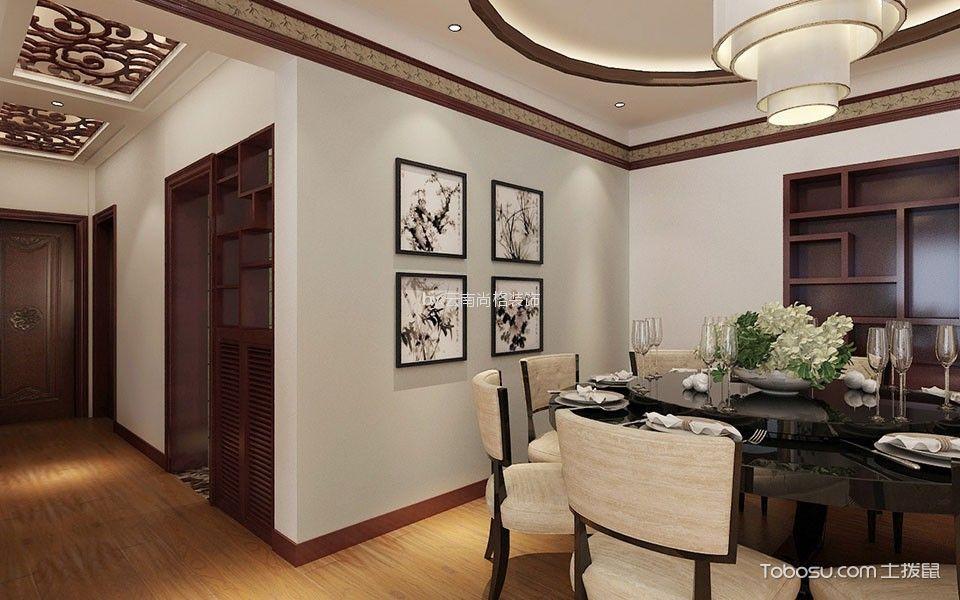 清水佳湖138平米四室中式风格效果图